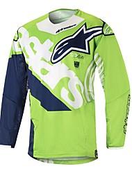 Недорогие -мотоцикл джерси гора скорость вниз на заказ скорость вниз спорт на открытом воздухе езда на велосипеде костюм беговые гонки скорость вниз футболка на заказ