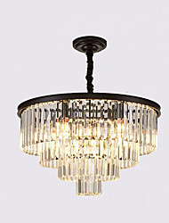 cheap -QIHengZhaoMing 9-Light 60 cm Chandelier Metal Painted Finishes Modern 110-120V / 220-240V