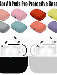 cheap -Silicone Protective Case For Apple Airpods Pro Wireless Bluetooth Earphone Soft Silicone Cover For Airpods Pro Protective Cases