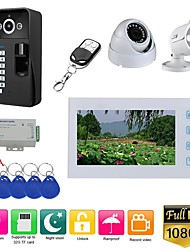 cheap -MOUNTAINONE SY715GLEC11 Wired & Wireless Built in out Speaker 7 inch Hands-free 1080 Pixel One to One video doorphone