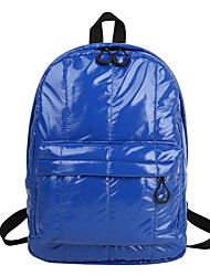 cheap -Adjustable PU Zipper Commuter Backpack Daily Black / Blushing Pink / Silver