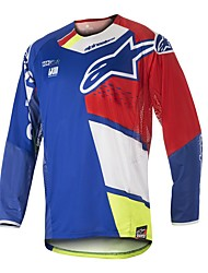 cheap -Motorcycle Jersey 18 types of cycling suit speed down cross-country motorcycle T-shirt long sleeve cross-country shirt mountain bike top customization