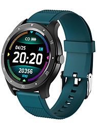 cheap -New S6 Smart Watch Bracelet Round Screen Full touch Large Screen Heart Rate Blood Pressure Long Standby Waterproof Sports Smart Female Physiological Cycle Reminder Function