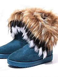 cheap -Women's Snow Boots Winter Boots Suede Faux Fur Ski / Snowboard Snowsports Winter Sports Windproof Warm Anti-Slip Winter