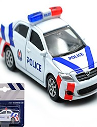 cheap -Toy Car Model Car Police car Car Sounds Simulation Boys' Toy Gift