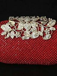 cheap -Women's Zipper Straw Evening Bag Black / Gold / Silver