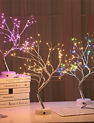 cheap -Christmas Tree Light LED Night Light Christmas Decoration 108 LED Branch Tree Light Gypsophila Lights for Home Party Wedding Indoor Decoration Night Light