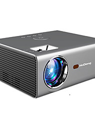 cheap -HoDieng HDG825 LED Projector HD 1280*720P Android 6.0OS 3800 Lumens Home Cinema Movie Android Projector With WIFI Bluetooth C8