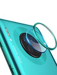 Недорогие -2 в 1 защитное кольцо для объектива камеры закаленное стекло пленка для huawei mate 30 / mate 30 pro