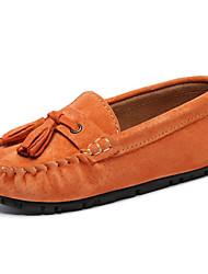 abordables -Fille Moccasin / Premières Chaussures Cuir Mocassins et Chaussons+D6148 Enfant en bas âge (9m-4ys) / Petits enfants (4-7 ans) Noir / Orange / Vert Printemps / Automne