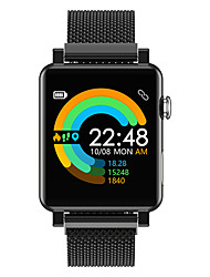 cheap -DMDG Smartwatch Stainless Steel BT Fitness Tracker Support ECG  Blood Pressure Monitoring Sport Smart Watch for Apple/ Samsung/ Android Phones