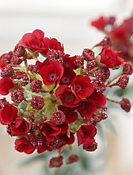 cheap -Fake Flowers Vintage Artificial Lobularia maritima Flowers Wedding Home Decoration,Pack of 1