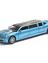 cheap -1:32 Toy Car Vehicles Car Transporter Truck Glow Focus Toy Parent-Child Interaction Zinc Alloy Rubber All Boys and Girls