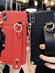 cheap -Case For Apple iPhone 11 / iPhone 11 Pro / iPhone 11 Pro Max with Stand Back Cover Solid Colored PU Leather