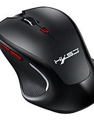 cheap -HXSJ T21 Wireless Bluetooth3.0 Optical Office Mouse / Ergonomic Mouse 2400 dpi 4 Adjustable DPI Levels 6 pcs Keys