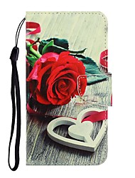 cheap -Case For Apple iPhone 11 / iPhone 11 Pro / iPhone 11 Pro Max Wallet / with Stand / Flip Full Body Cases Flower PU Leather