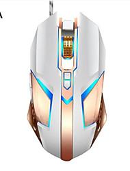 Недорогие -LITBest T03 Проводной USB Оптический Gaming Mouse / Эргономичная мышь Многоцветная подсветка 4800 dpi 4 Регулируемые уровни DPI 8 pcs Ключи