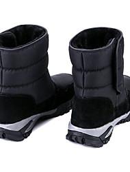 cheap -Men's Combat Boots Nylon Winter Boots Booties / Ankle Boots Black
