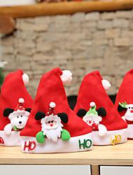 Недорогие -рождественские шляпы санта шляпы дети женщины мужчины парни девушки шапка украшения украшения для рождественской вечеринки реквизит