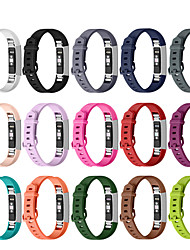 cheap -Smart Watch Band for Fitbit 1 pcs Sport Band Silicone Replacement  Wrist Strap for Fitbit Alta HR Fitbit Ace Fitbit Alta