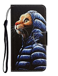 cheap -Case For Apple iPhone 11 / iPhone 11 Pro / iPhone 11 Pro Max Wallet / with Stand / Flip Full Body Cases Cat PU Leather