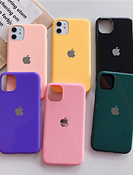 cheap -Case For Apple iPhone 11 / iPhone 11 Pro / iPhone 11 Pro Max Dustproof Back Cover Solid Colored Acrylic