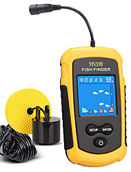 cheap -Fish Finder Sonar Sensor 40*50 inch LCD 100 m Waterproof Relaxed Fit Anti-Stain Treatment Special Design Rechargeable Rechargeable Li-ion Battery Sea Fishing Ice Fishing Carp Fishing