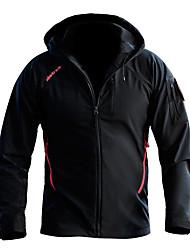 cheap -Men's Hunting Jacket Outdoor Thermal / Warm Windproof Wearproof Comfortable Spring Fall Winter Nylon Terylene Black Blue Grey