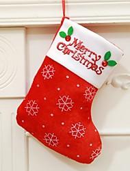 cheap -Christmas Toys Christmas Toy Gift Bag Santa Suits Elk Snowman Textile 3 pcs Adults' Christmas Party Favors Supplies
