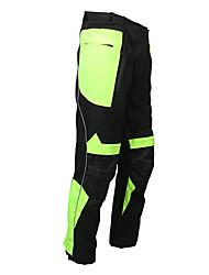 cheap -Men's Cycling Pants Bike Pants / Trousers Top Breathable Moisture Wicking Reflective Strips Sports Lycra Winter Black / Green Mountain Bike MTB Road Bike Cycling Clothing Apparel Race Fit Bike Wear