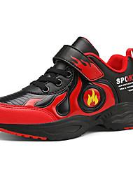 abordables -Garçon Confort Polyuréthane Chaussures d'Athlétisme Grands enfants (7 ans et +) Marche Dorée / Rouge / Bleu Automne