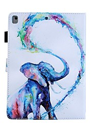 cheap -Case For Apple iPad Air / iPad 4/3/2 / iPad (2018) Card Holder / with Stand / Pattern Full Body Cases Animal PU Leather