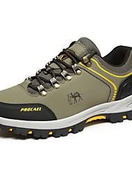 cheap -Men's Comfort Shoes PU Fall & Winter Athletic Shoes Hiking Shoes Army Green / Gray / Khaki