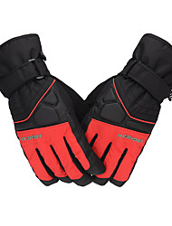 cheap -Sports Gloves Winter Gloves Ski Gloves Men's Snowsports Full Finger Gloves Winter Waterproof Warm Wearable Oxford Cloth PU(Polyurethane) Skiing Winter Sports
