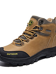 cheap -Men's Comfort Shoes PU Fall & Winter Sporty Athletic Shoes Hiking Shoes Non-slipping Black / Brown