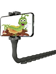 cheap -Cute Caterpillar Lazy Bracket Multi-fuction Phone Lazy Bracket Worm Live Bracket Suction Cup Wall Desktop Pillar Holder