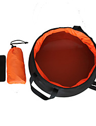 cheap -Collapsible Water Bottle Foldable Emergency Convenient Easy to Use Ultra Light (UL) Nylon Leisure Sports Working Traveling Cross-Country Mountain Forest Green Black / Orange Sky Blue Yellow 1 pcs