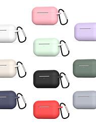 Недорогие -Чехол для AirPods с защитой от падения силиконовый мягкий симпатичный портативный для AirPods Pro (чехол для зарядки AirPods не входит в комплект)