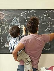 cheap -45*100cm Removable Chalkboard Vinyl Wall Sticker Blackboard Decal Peel Stick Office School Supply