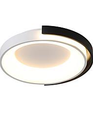 cheap -1-Light 45 cm Creative Dimmable Flush Mount Lights Metal Novelty Electroplated Artistic Chic & Modern 110-120V 220-240V