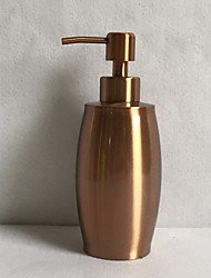 cheap -Soap Dispenser Stainless Steel Painted Finishes Hand Press Automatic Dispenser 350 Ml Rose Gold 1pc