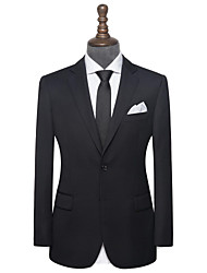 cheap -Black twill wool custom suit