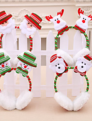 cheap -Snowman Masquerade Family Look Kid's Costume Party Christmas Christmas Fabric Headwear