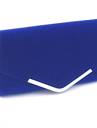 cheap -Women's Satin Clutch Solid Color Black / Blue / Red