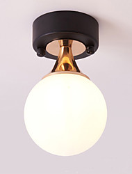 cheap -1-Light 12 cm Adjustable / Dimmable / Tri-color Flush Mount Lights Metal Glass Globe Painted Finishes Traditional / Classic / Modern Generic