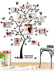 cheap -AY6031 black photo tree photo frame wall photo wall home background decoration removable sticker