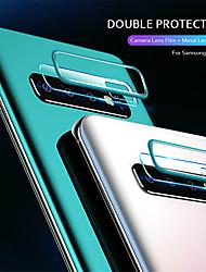 Недорогие -2 в 1 защитное кольцо для объектива камеры закаленное стекло пленка для Samsung Galaxy S10 / S10 Plus