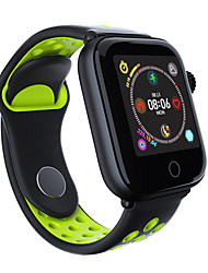 cheap -Couple's Sport Watch Digital Stylish Silicone Black / Red / Green 30 m Heart Rate Monitor Bluetooth Smart Digital Fashion - Black black / gold Black / Green One Year Battery Life
