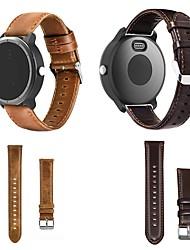 cheap -Smartwatch Band for Garmin Vivoactive 3 / Vivoactive 3 Music Leather Loop Genuine Leather Wrist Strap