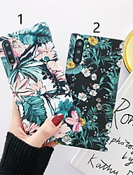 cheap -Case For Samsung Galaxy S9 / S9 Plus / S8 Plus Pattern Back Cover Flower Plastic